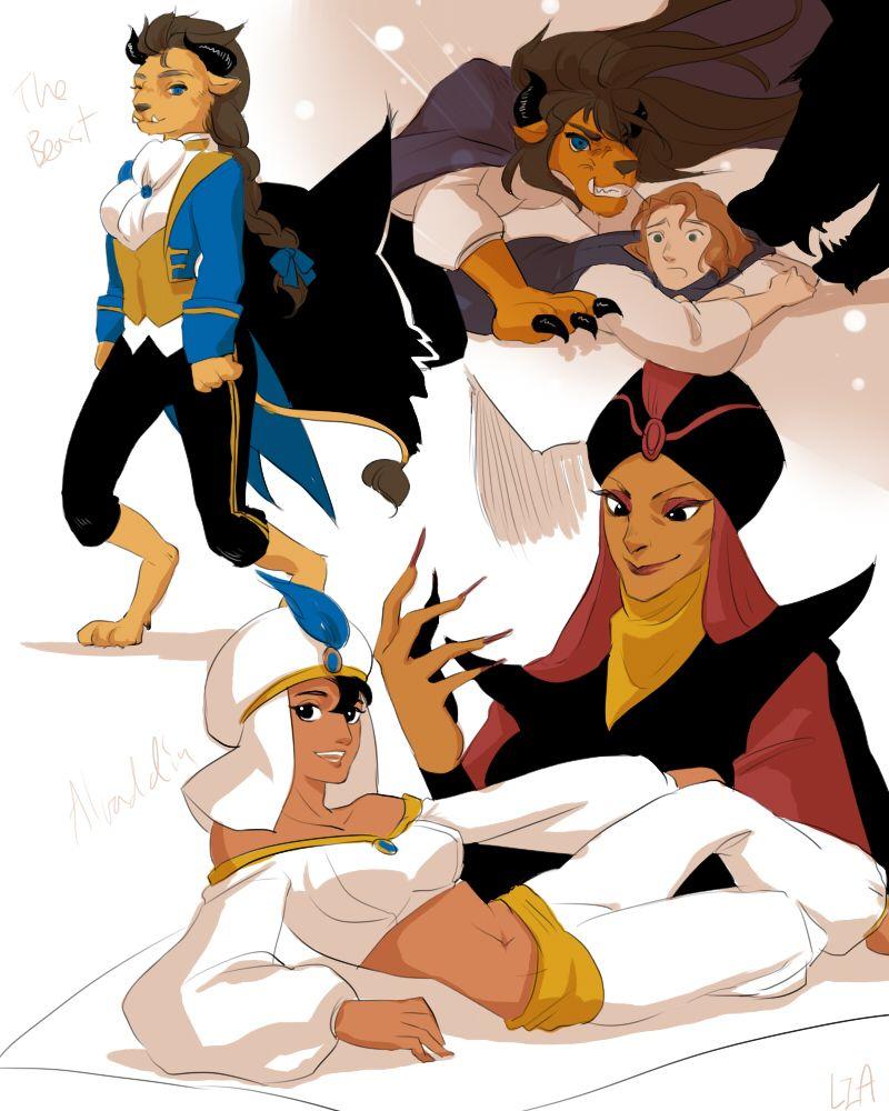 Disney Genderbend Hercules - Google Search