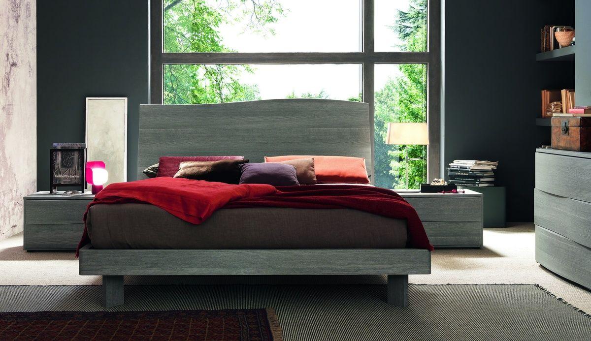 Mobili sma ~ Sma mobili cloud bed modern curved wooden designer bed