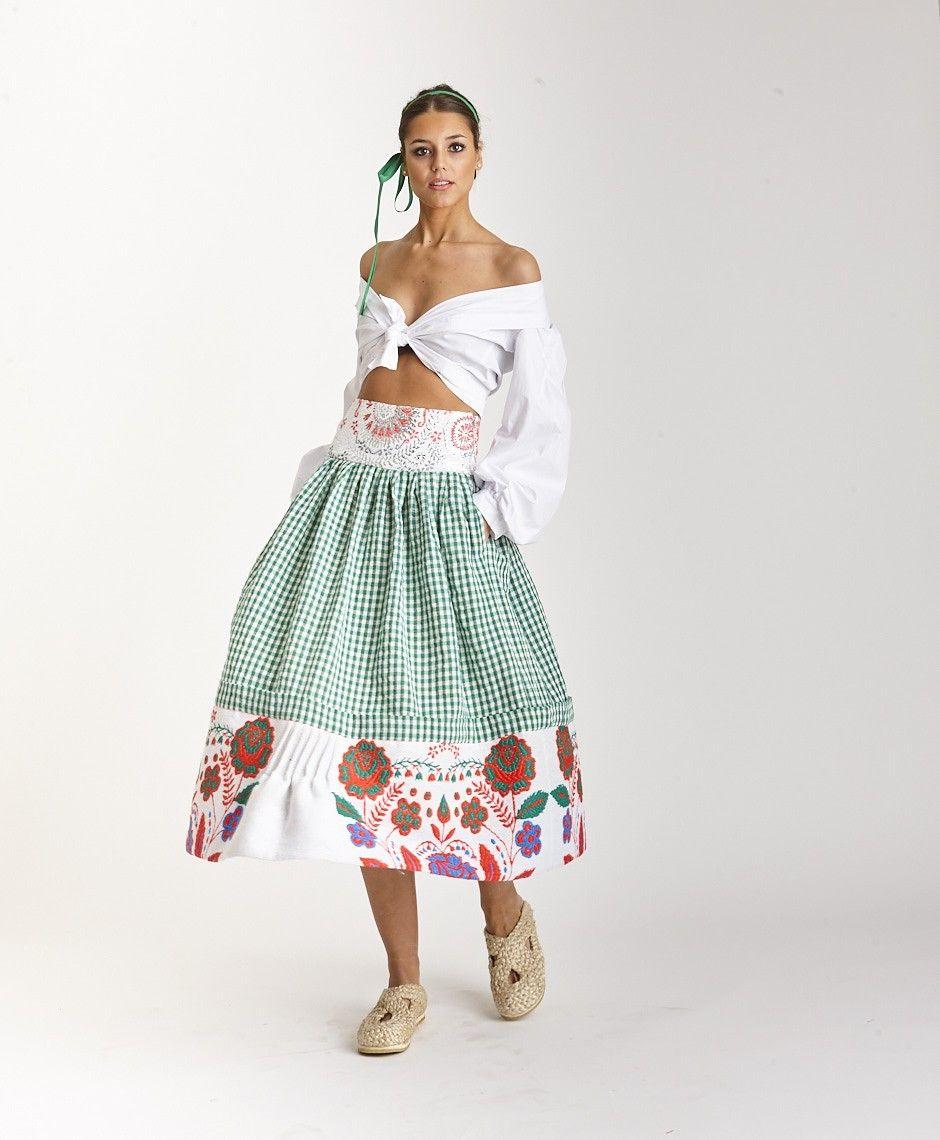 c0eebd66b FALDA VICHY | hippie bohemia en 2019 | Fashion dresses, Boho fashion ...