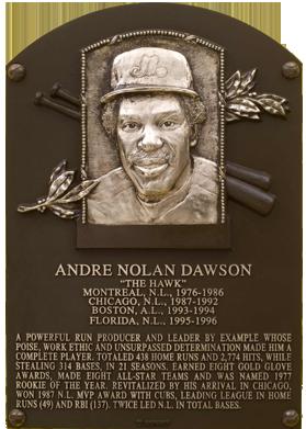 Photo of Andre Dawson