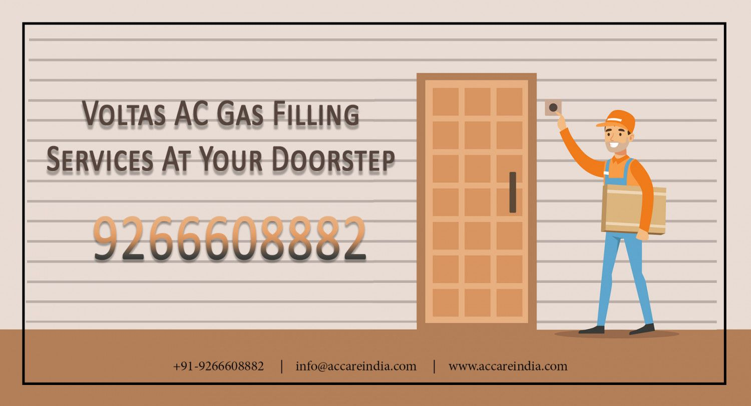 Voltas AC Gas Filling Services at Your Doorstep Visual