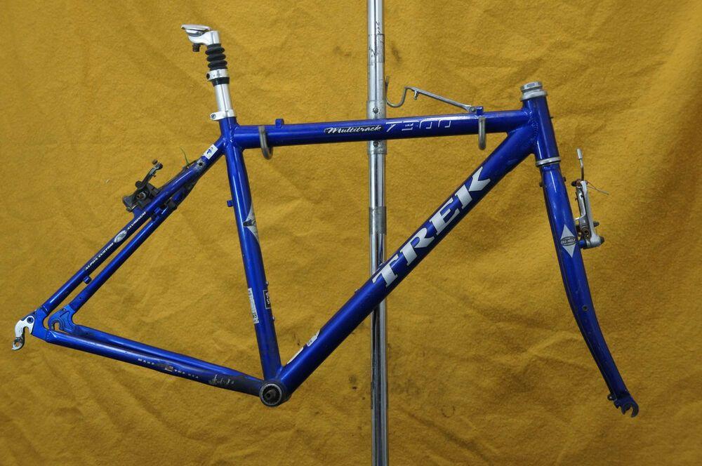 Trek 7300 Touring Bike Frame Usa Made 700c 29er Hybrid Cyclocross Gravel Charity Trek Touring Bike Bike Frame Touring