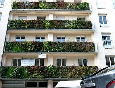 Vertical Gardens as Design Element - Commercial Interior Design