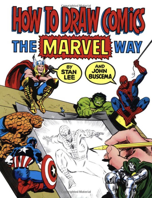 how to draw comics the marvel way pdf español
