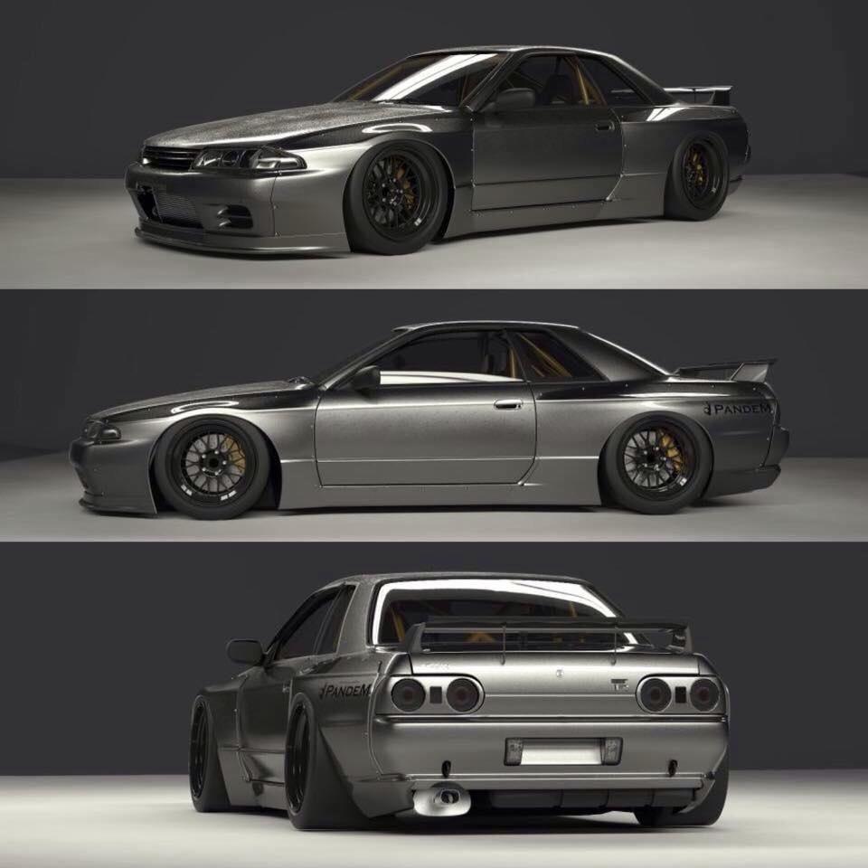 Pandem R32 | Páči sa mi | Pinterest | Cars, Nissan and Jdm