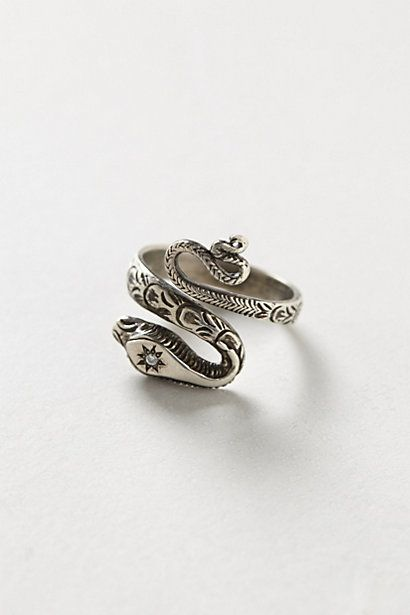 Diamondback snake ring by Workhorse