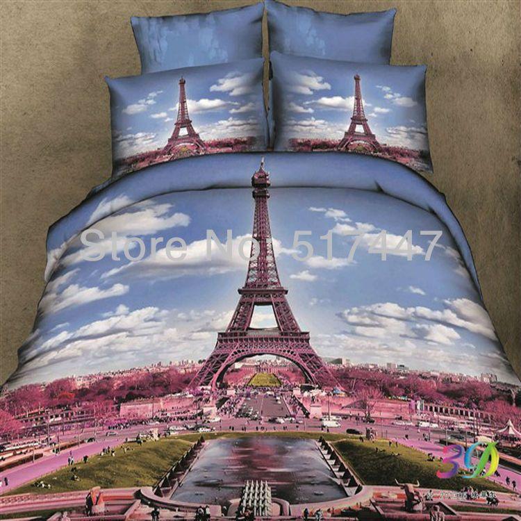 Parijs Eiffeltoren 3d Gedrukte 4pc Beddengoed Set Bed Dekbed Dekbedovertrek Dekbed Dekbedovertrek Beddengoed In Van Op Aliexp Eiffeltoren Dekbed Dekbedovertrek