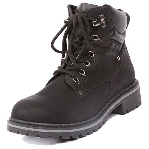 Women's Ankle High Combat Hiking Boots
