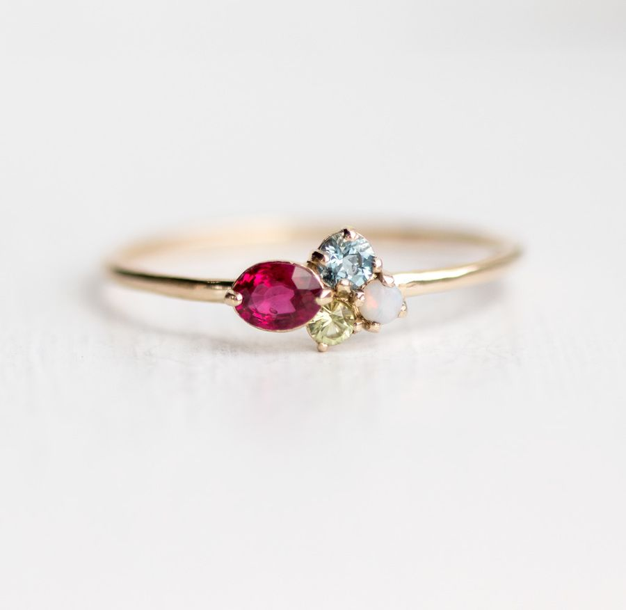 Find This Pin And More On Ruby And Diamond Rings & Jewelry