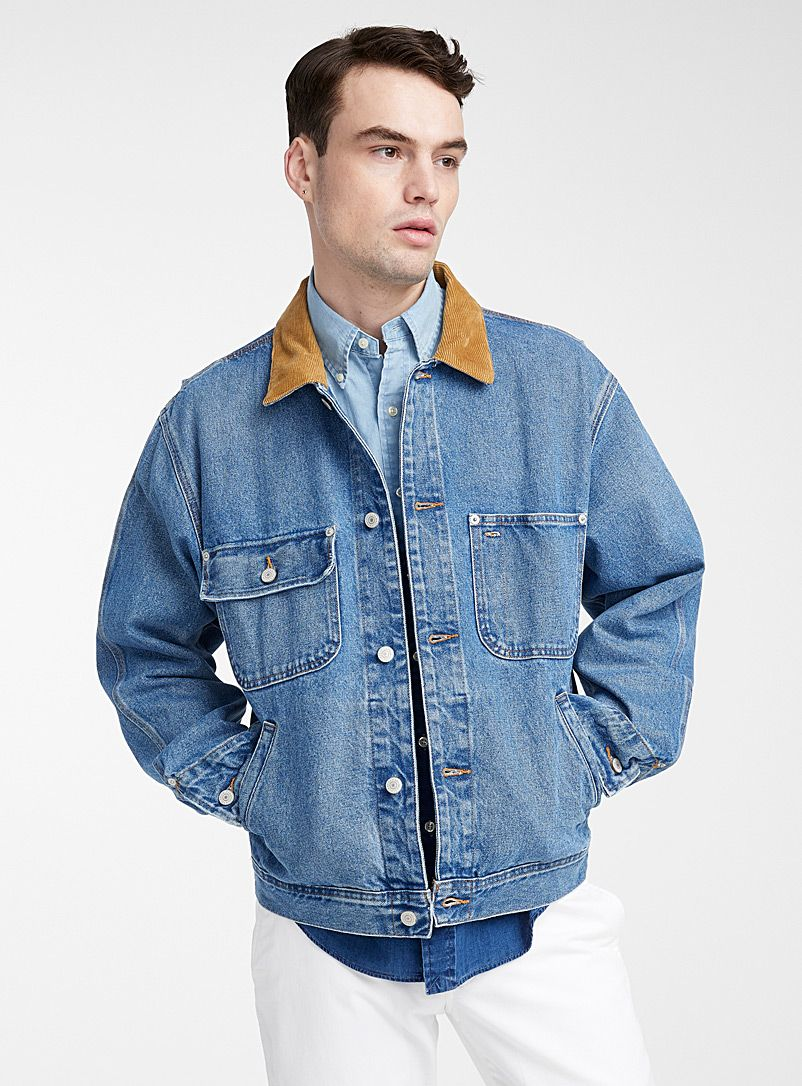Montana Jean Jacket Simons A Jean Jacket Inspired By The Western Mountains Simons Poloralphlauren Denimjacket M Denim Jacket Denim Jacket Men Mens Denim [ 1086 x 802 Pixel ]