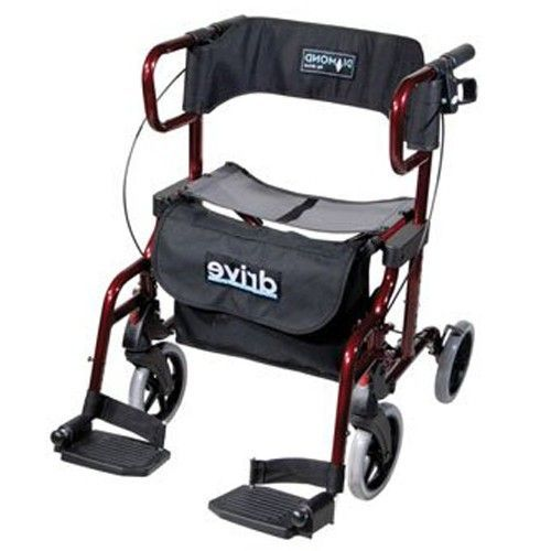 Vivente rollator / rolstoel Duo Deluxe  #Vivente #zorg #vivente-zorg.nl #rolstoel #Duo Deluxe