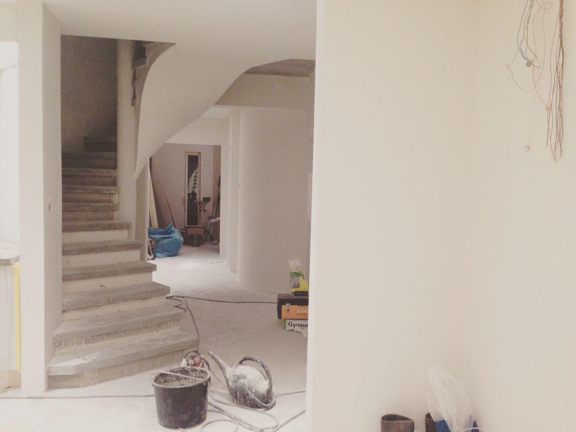Home interior stairs concrete stair robust home interior  projekt att testa