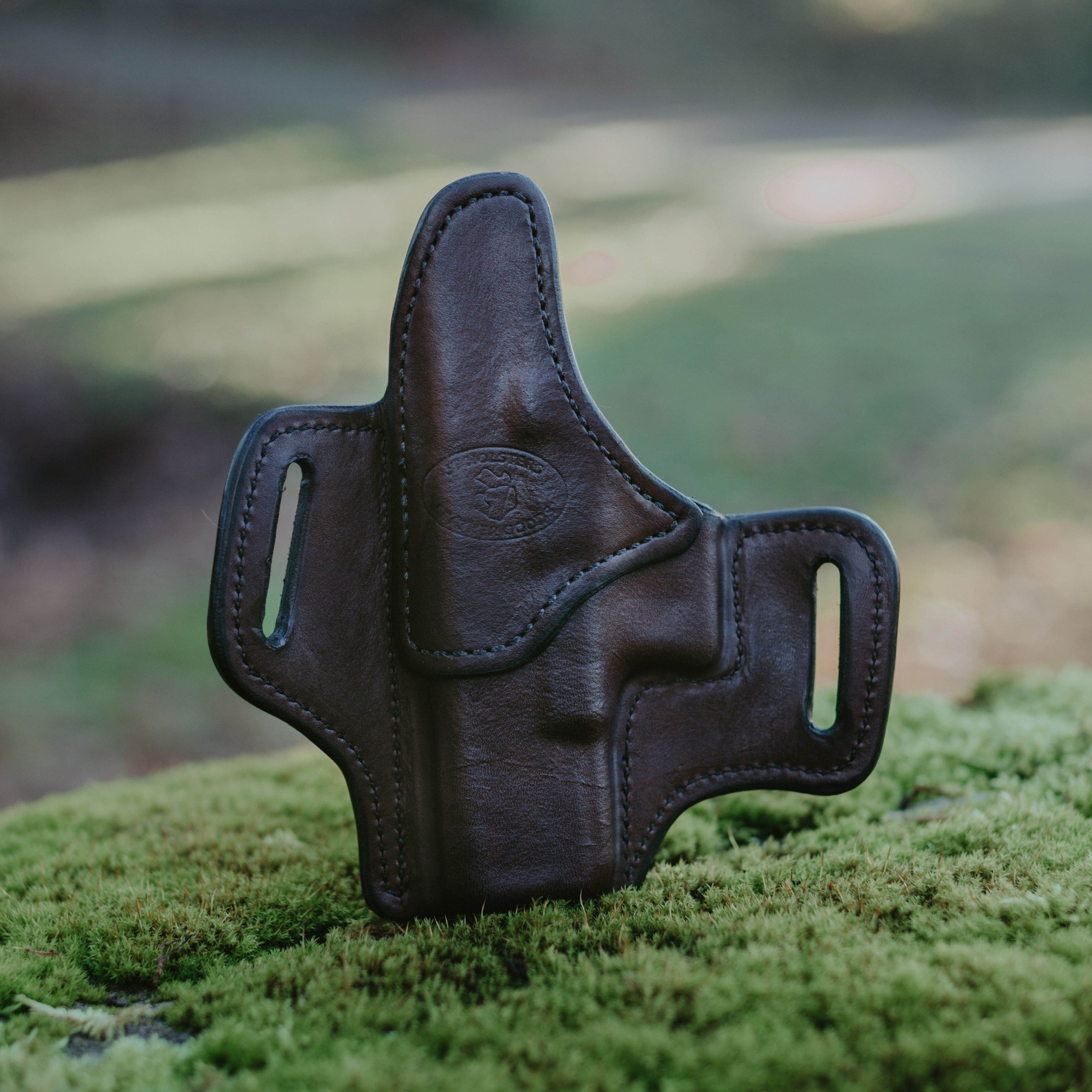 The Tillamook | Leather Holsters | Pancake holster, Leather
