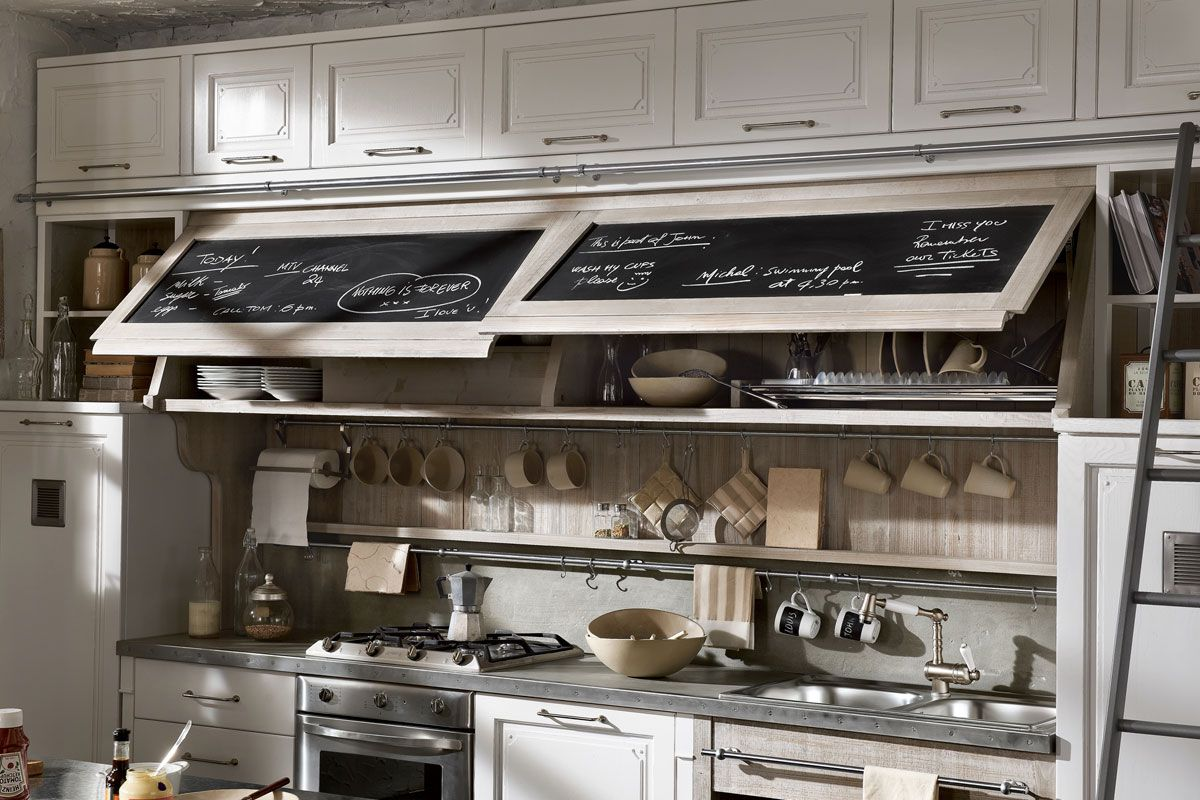 Marchi Group Cuisine marchi group - nolita vintage kitchen - kitchen bleached wood - hood