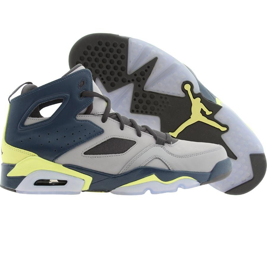 af2fcb3e37fdb4 Air Jordan Men FLTCLB Flight Club 91 (metallic silver   electric yellow    squadron blue) 55475-035 -  139.99