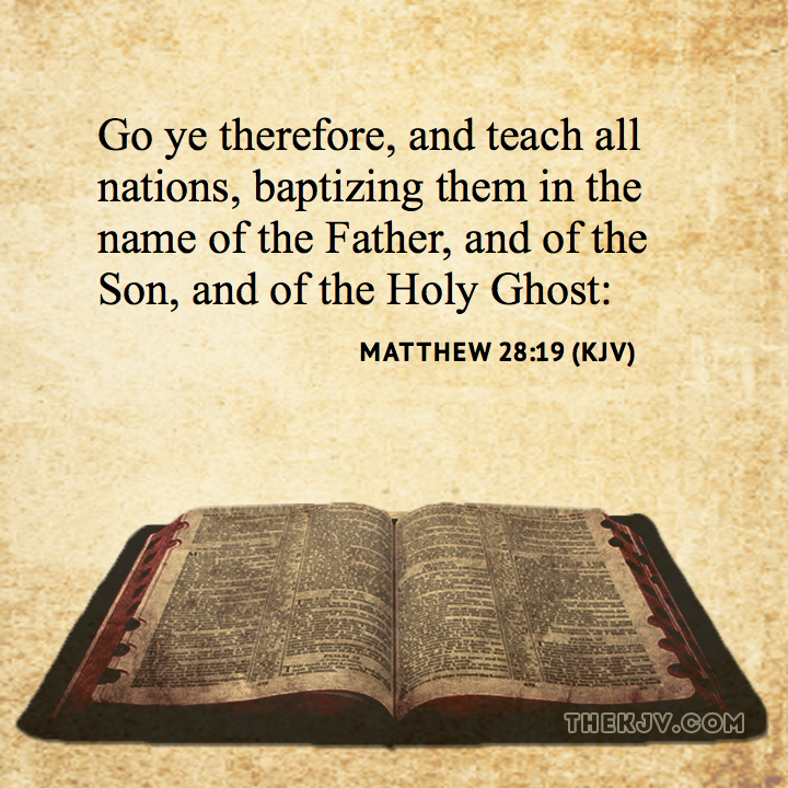 Matthew 28 19 Kjv – Quotes of the Day
