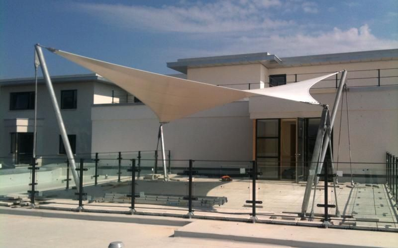 Tensile Fabric Canopy & The Hotel Motel And Resort ...