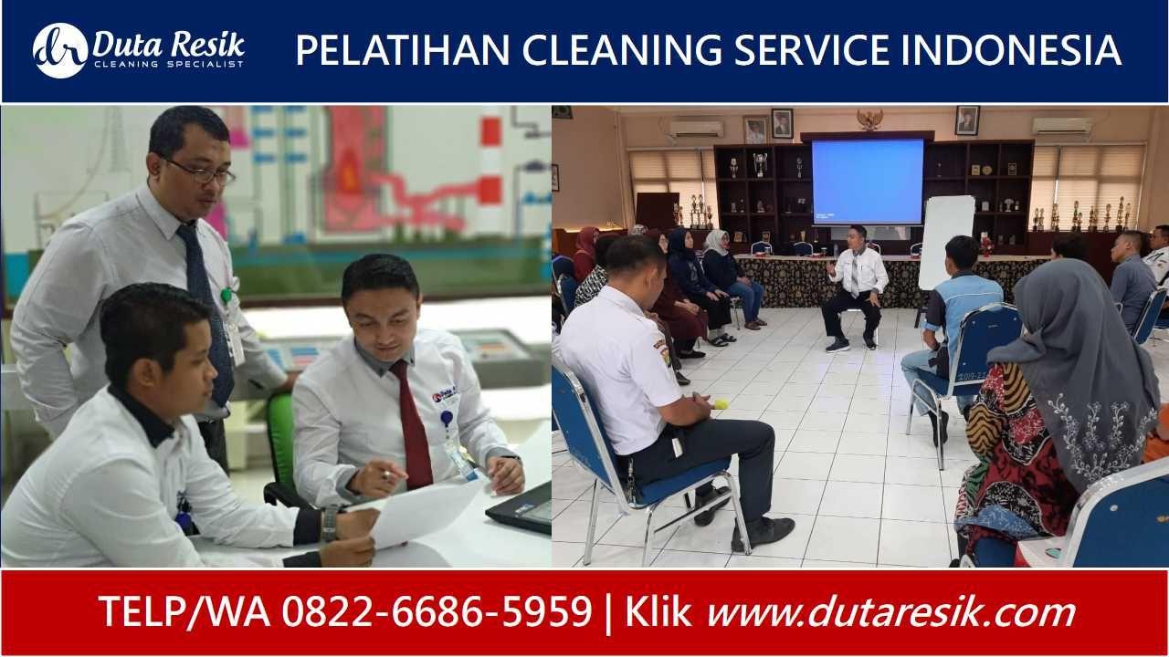 Pelatihan Cleaning Service Pondok Pesantren, Pelatihan
