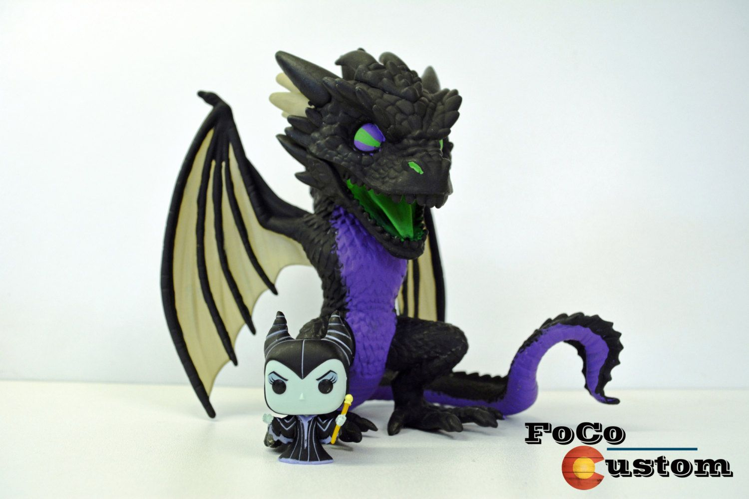 Funko Pop Maleficent Custom Funko Pop Maleficent Dragon