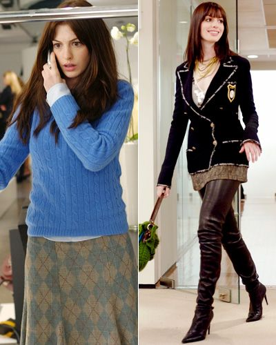 Anne Hathaway College: The Top 10 Movie Makeovers
