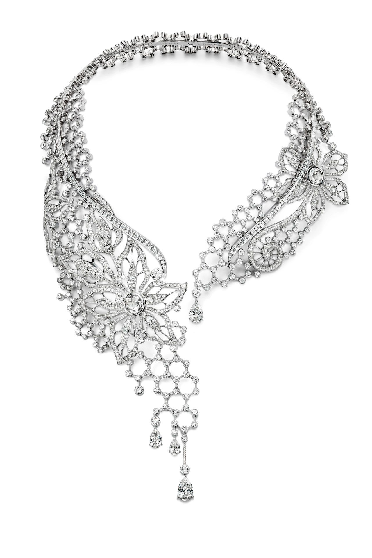 Couture Precieuse Diamond Embroidery Inspiration necklace