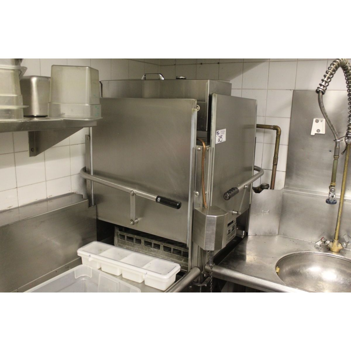 Commercial Corner Pass Through Dishwasher Commercial Kitchen