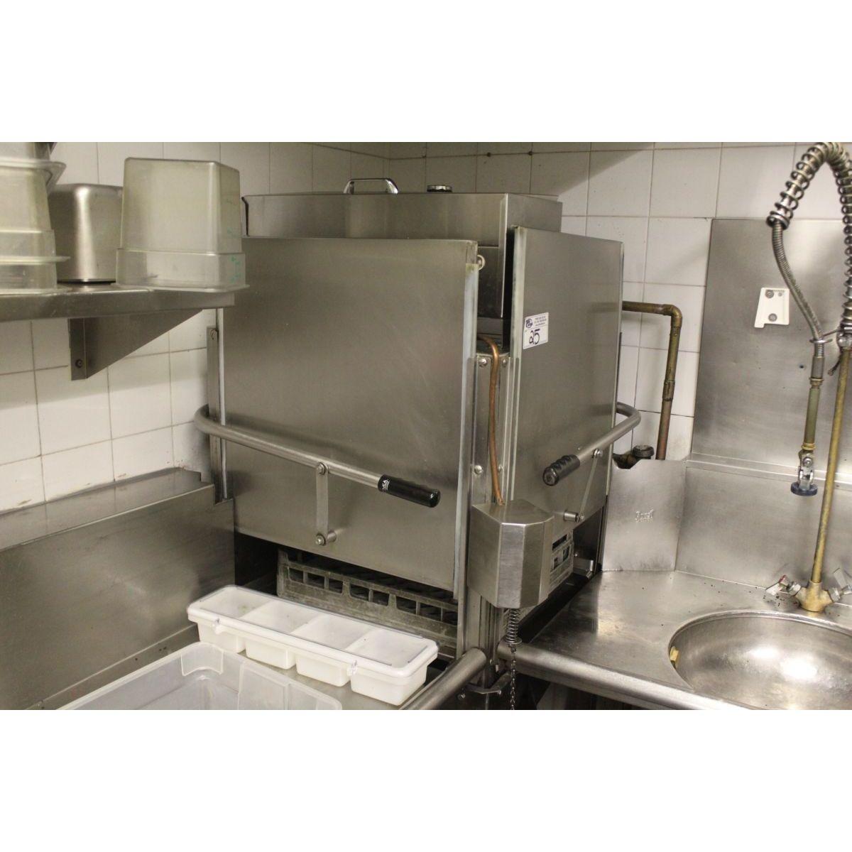 Commercial Corner Pass Through Dishwasher Commercial Kitchen Design Commercial Kitchen Restaurant Kitchen