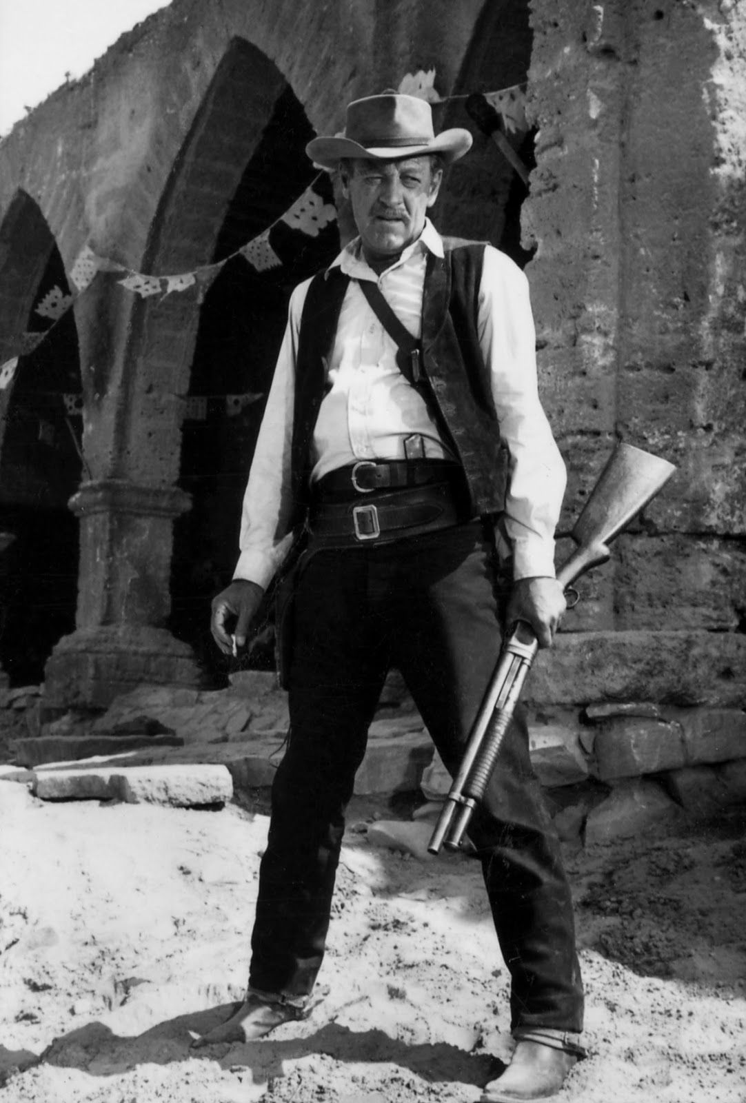 "William Holden in ""The Wild Bunch"" (1969) 