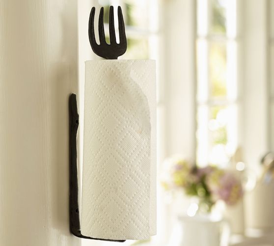 Cucina Wall Mount Paper Towel Holder Pottery Barn So