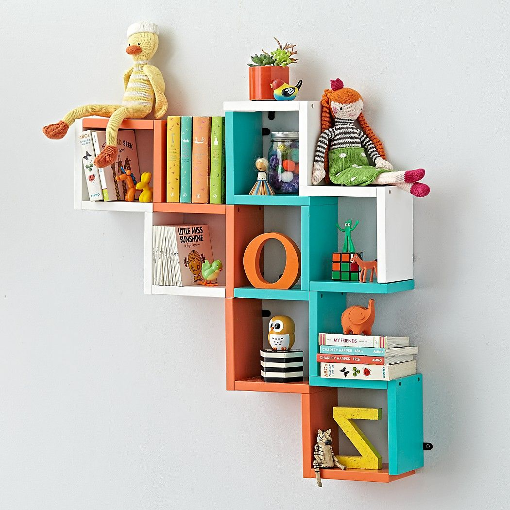 Our Zigzag Wall Shelves Are A Great Way To Store Items While Also