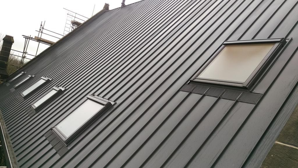 Welcome To Steel Roof Installers Uk Approved Installers Of Tata Steel Colorcoat Urban Steel Roofing System Ov Roof Cladding Building Cladding Steel Cladding