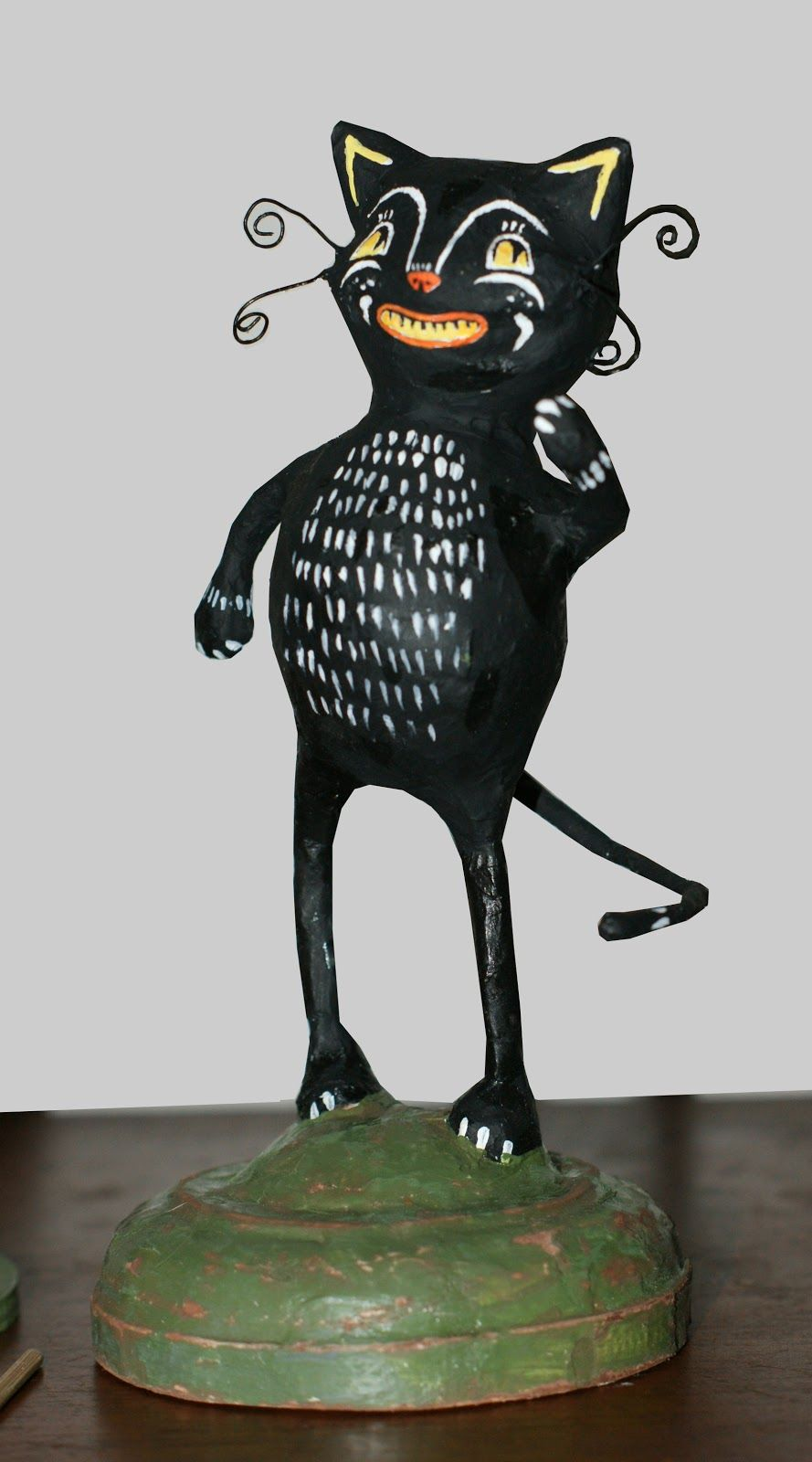 halloween paper mache folk artists - Google Search