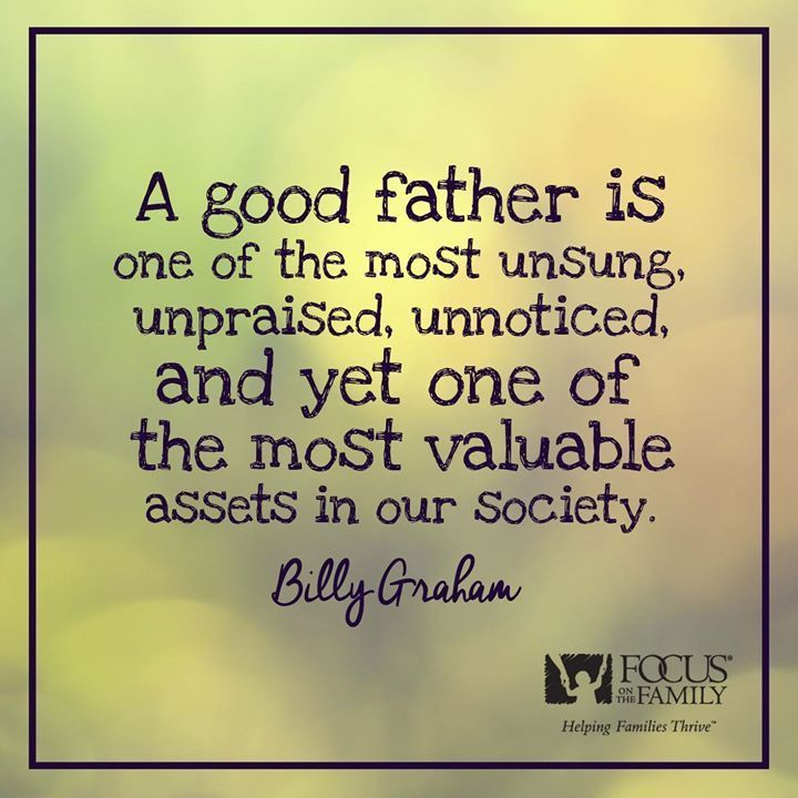 Standing for Life When it Matters Most Good father