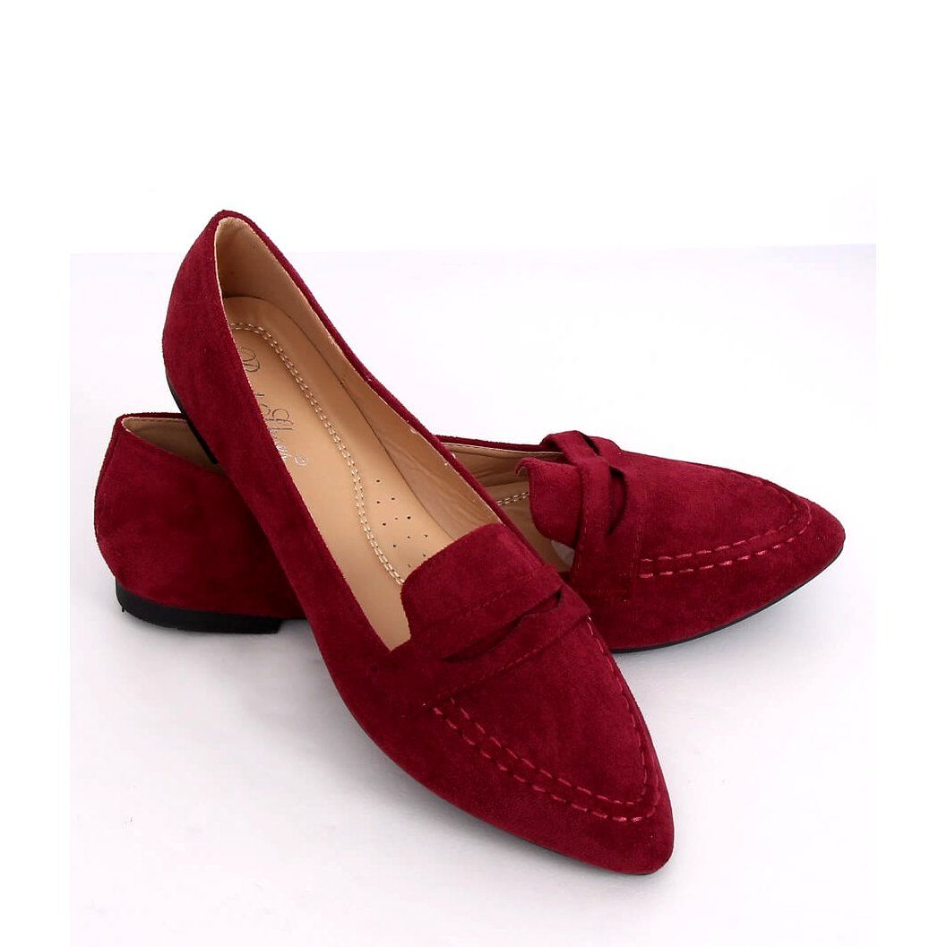 Mokasyny Damskie Bordowe Ch 1m6 Wine Red Czerwone Dress Shoes Men Loafers Men Loafers