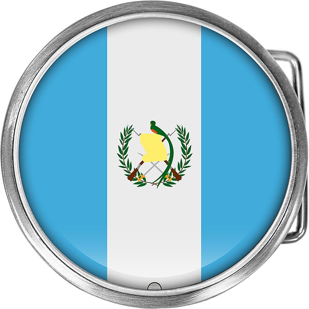 Guatemala Flag Belt Buckle Guatemala Flag Flags And Products