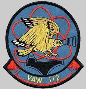 STICKER USN VAW 112 Golden Hawks