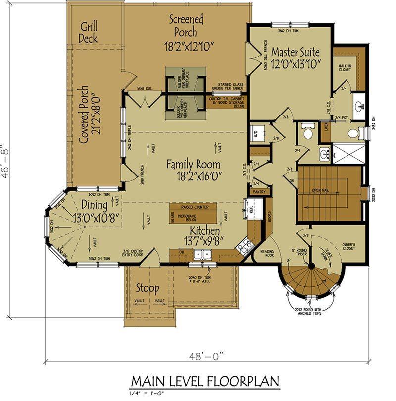 Fairy Tale House Plans Designs