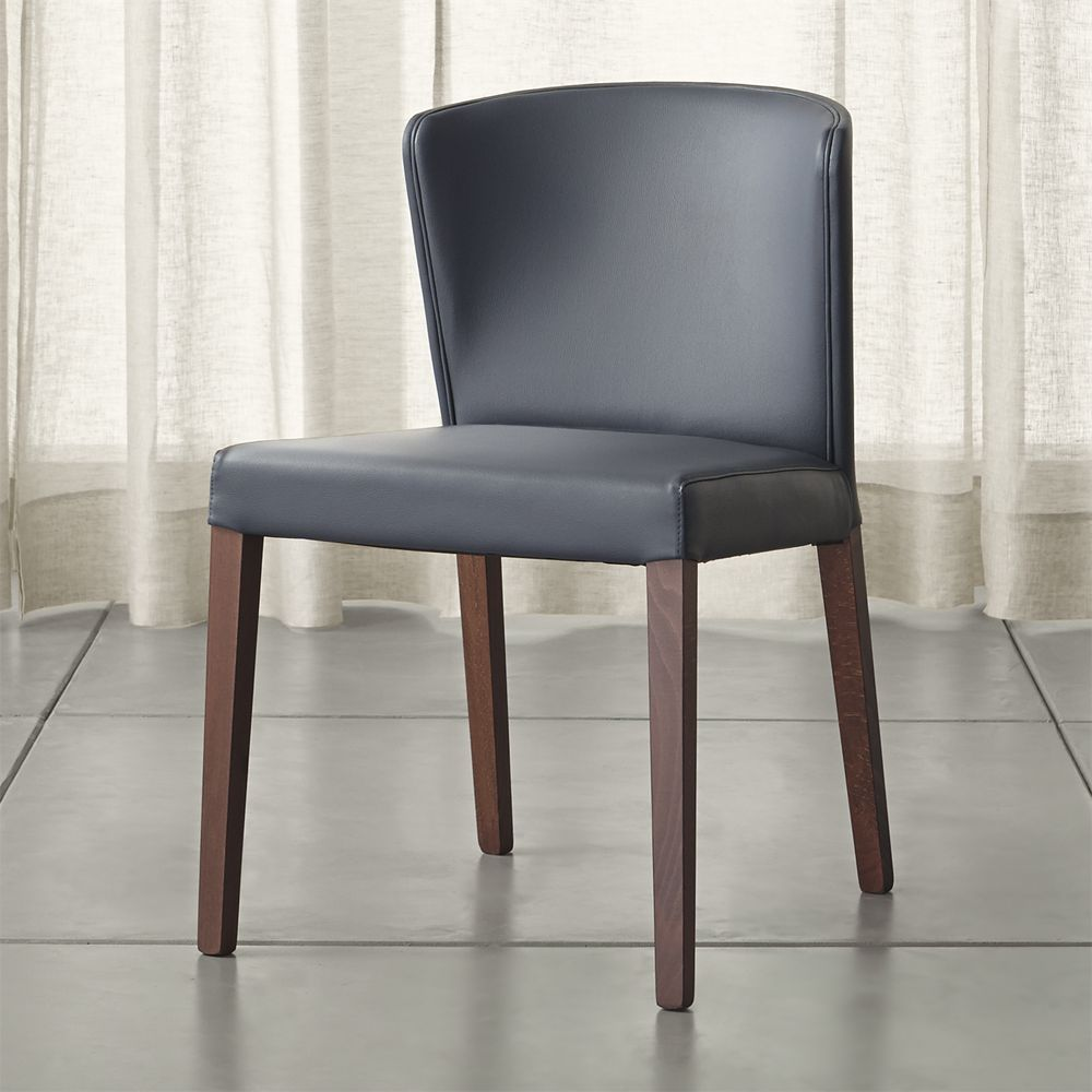 Curran grey dining chair crate and barrel grey crate and barrel