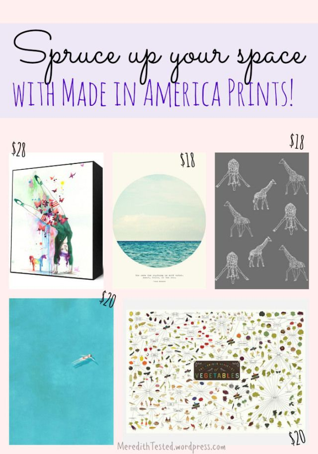 Affordable Madeinusa Wall Art To Spruce Up Your Space Prints America Art Wall Art
