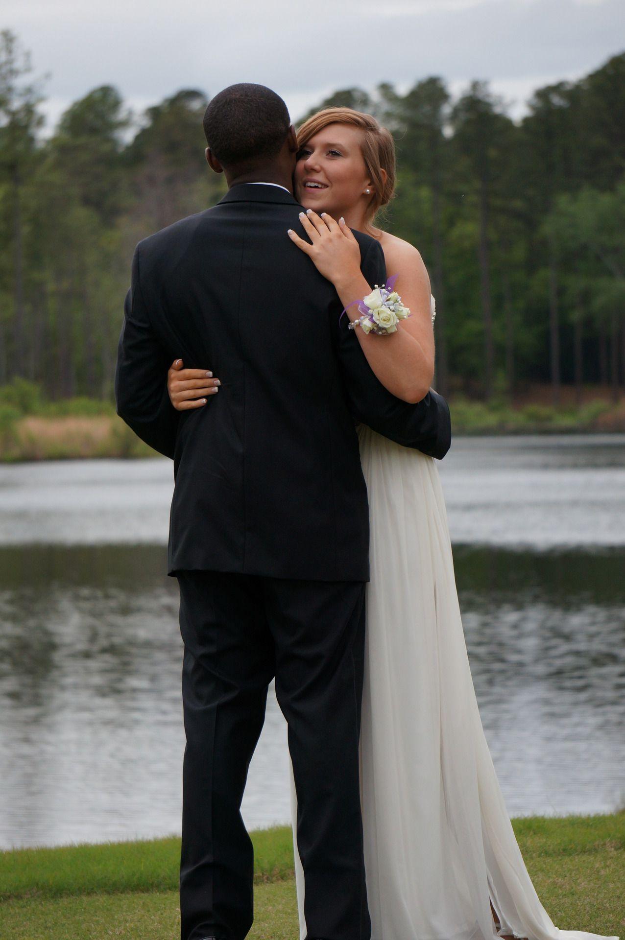 We Love Interracial Couples  Interracial Wedding -8795
