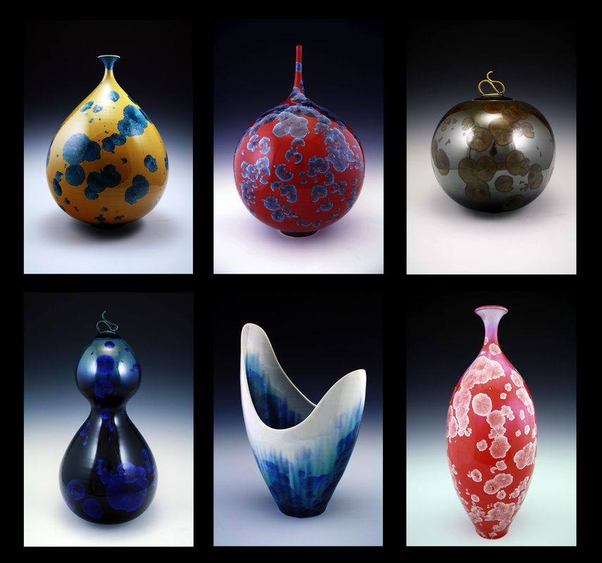 Hand Thrown Pottery Crystalline Ceramics By Matt Horne