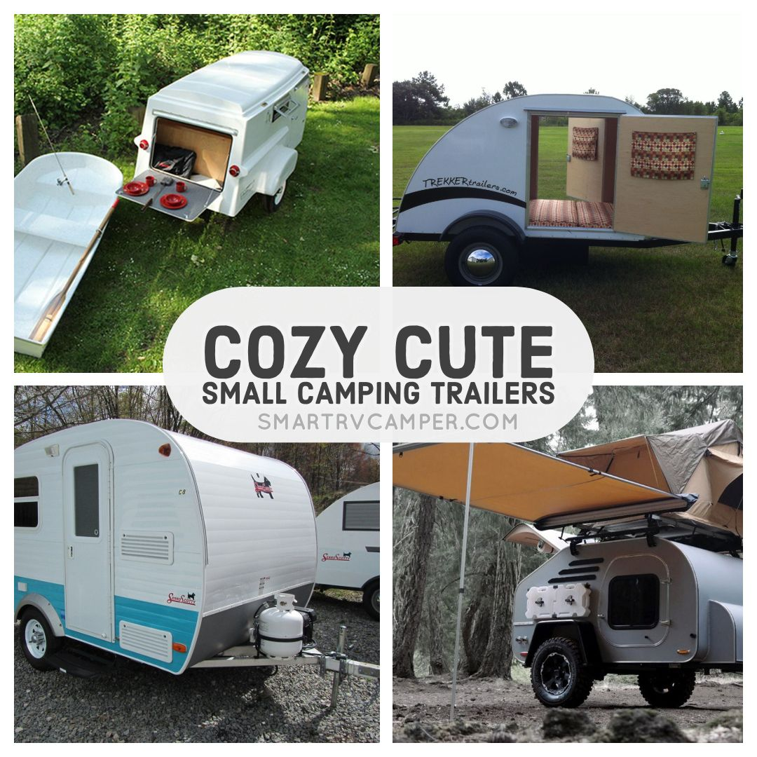 17 Cozy Cute Small Camping Trailers For Small Family Small