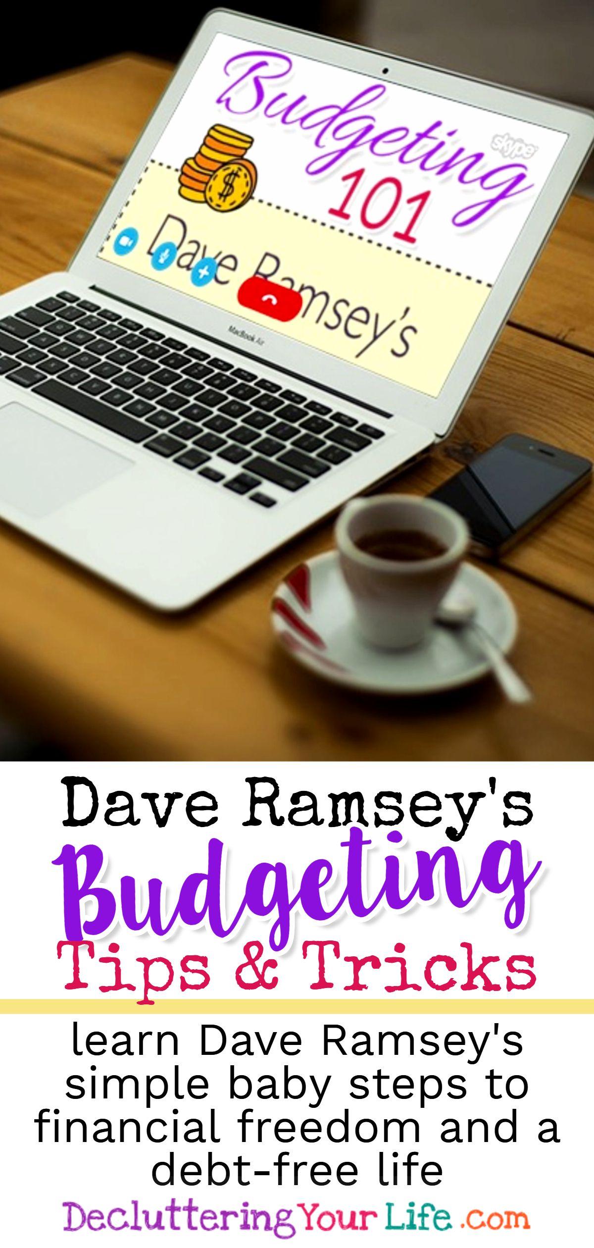 Dave Ramsey Budgeting 101