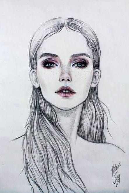 Photo of 64 Best Ideas Fashion Illustration Sketches Face Portraits