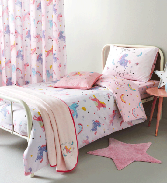 Cat Unicorn BEDDING Kids Bedding