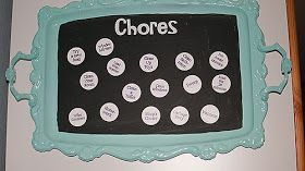 Little Gray Table: Chore Chart
