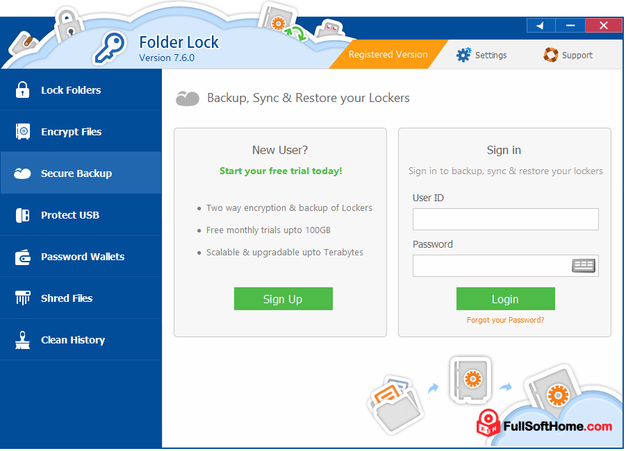 folder lock software free download full version with serial key