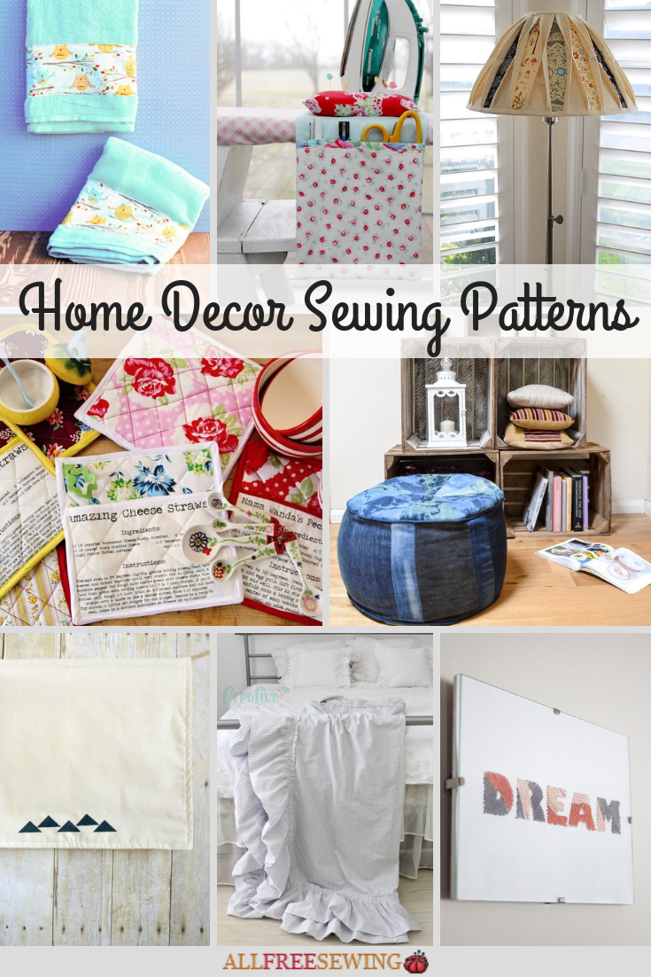 Check Out All These Amazing Free Sewing Projects For The Home In Our Fantastic Collection