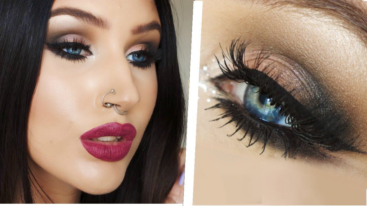 Arabic Inspired Double Winged Eyeliner Smokey Eye Makeup Tutorial Arabic Eye Makeup Eye Makeup Pictures Eye Makeup