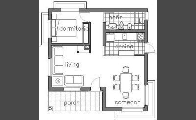 Pin de en proyecto nuestra casa pinterest Planos de casas 80 mts2